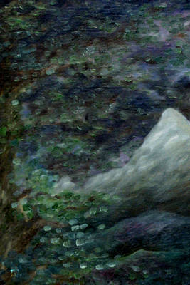 Painting - Lone Mountain by FT McKinstry