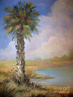 Painting - Lone Palm by Deborah Smith