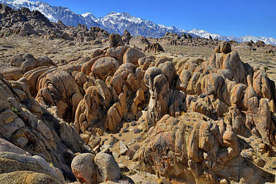 Photograph - Lone Pine California's Alabama Hills by Ray Mathis