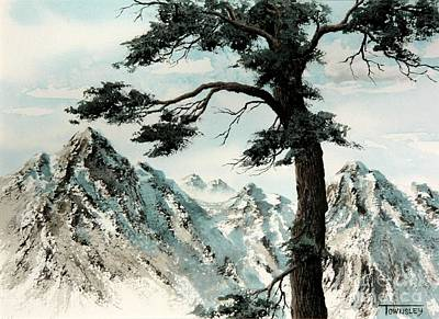 Painting - Lone Pine by Frank Townsley