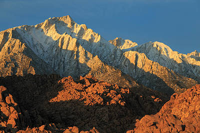 Photograph - Lone Pine Peak by Johnny Adolphson