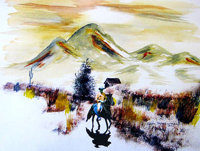 Lone Ranger Painting - Lone Ranger by John Wolfersberger