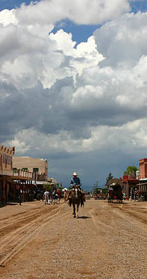 Photograph - Lone Rider by Joe Kozlowski
