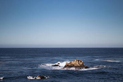 Photograph - Lone Rock In The Ocean by Jingjits Photography