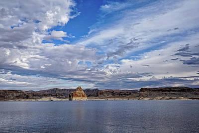 Photograph - Lone Rock Vista by Leda Robertson