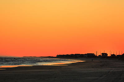 Photograph - Lone Runner At Sunset by Joni Eskridge