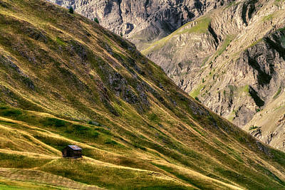 Photograph - Lone Shepherd's Hut by Roberto Pagani