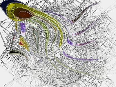 lone Sperm Art Print by Patrick Guidato