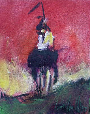 Painting - Lone Spirit by Les Leffingwell