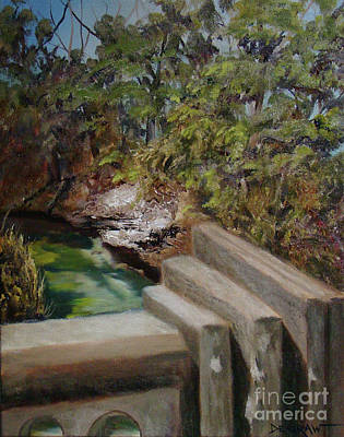 Painting - Lone Star Bridge by Cindy DeGraw