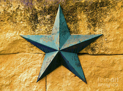 Photograph - Lone Star Of Texas by Ray Shrewsberry