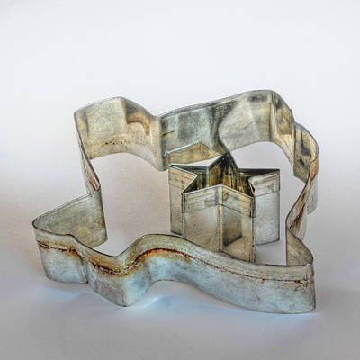 Photograph - Lone Star State Cookie Cutter by David and Carol Kelly