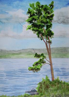 Bethany Lee Painting - Lone Tree by Bethany Lee