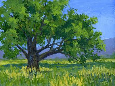 Painting - Lone Tree by David King