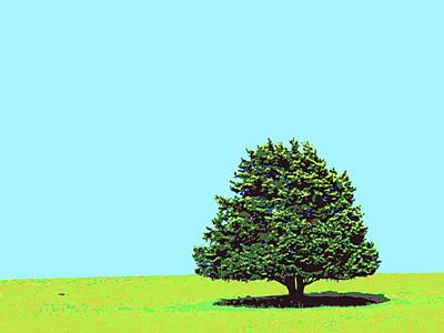 Lone Tree Art Print by Dominic Piperata