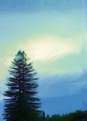 Painting - Lone Tree by Shelley Bain