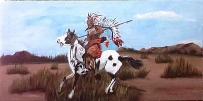 Painting - Lone Warrior by Catherine Swerediuk
