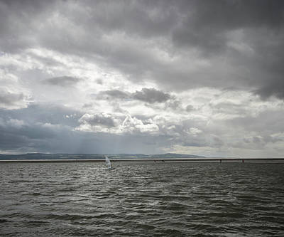 Photograph - Lone Windsurfer by Spikey Mouse Photography