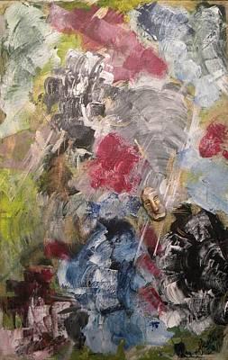 Pictori Romani Contemporani Painting - Loneliness by Carmen Kolcsar