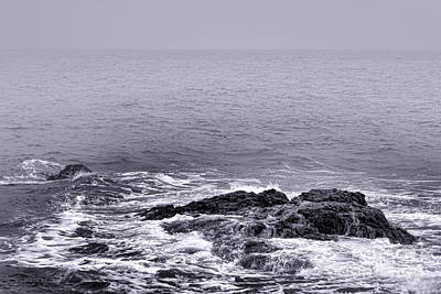 Maine Shore Photograph - Loneliness by Olivier Le Queinec