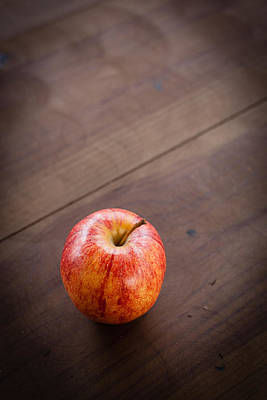 Lonely Apple Art Print by Erin Cadigan