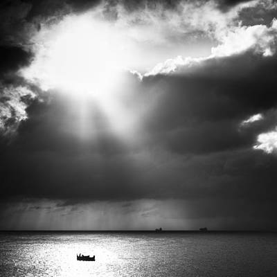 Photograph - Lonely At Sea by Neil Alexander