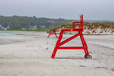 Photograph - Lonely Beach Day by Brian MacLean