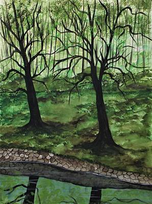 Painting - Lonely Days by Lisa Aerts