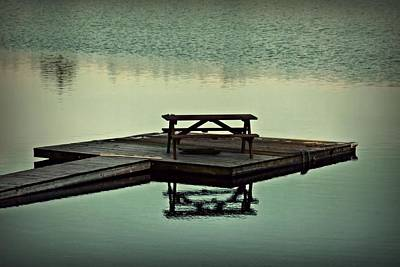 Photograph - Lonely Dock by Patricia Strand