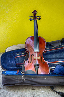 Photograph - Lonely Fiddle by John Haldane