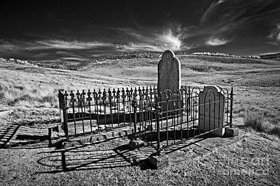 Lonely Graves Art Print by Russ Brown