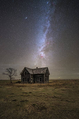 Old House Photograph - Lonely House by Aaron J Groen