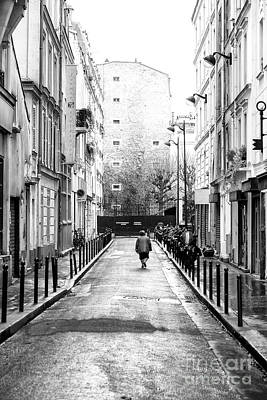 Photograph - Lonely In Paris by John Rizzuto