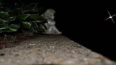 Photograph - Lonely Little Angel by Brynn Ditsche