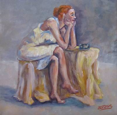 Lonely Mornings Art Print by Barbara O'Toole