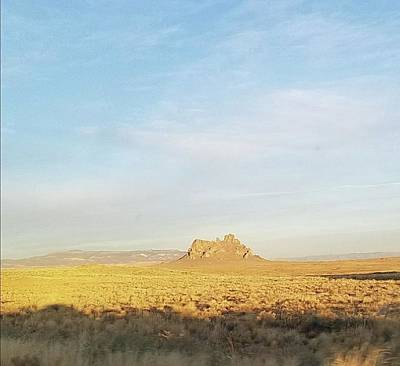 Photograph - Lonely Mountain In New Mexico by Mozelle Beigel Martin