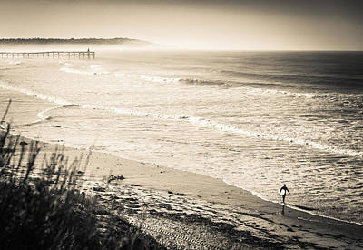 Brian Jones Photograph - Lonely Pb Surf by Brian Jones