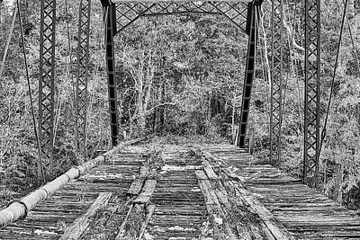 Photograph - Lonely Roads Black And White  by JC Findley