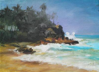 Painting - Lonely Sea by Rushan Ruzaick