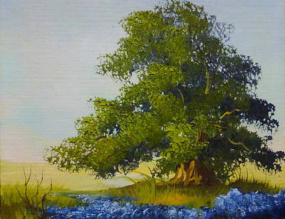 Painting - Lonely Tree by Monique Montney