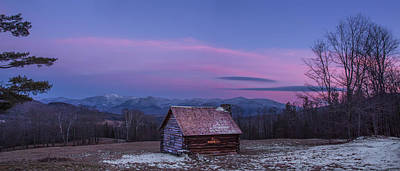 Photograph - Lonely Winter Cabin by Chris Whiton
