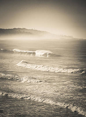 Photograph - Lonely Winter Waves by T Brian Jones