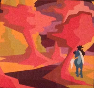 Lone Ranger Painting - Loneranger by Bev Gill