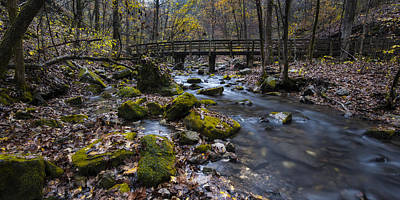 Photograph - Lonesome Bridge by Joe Sparks