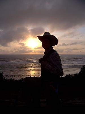 Photograph - Lonesome Cowboy by Angi Parks