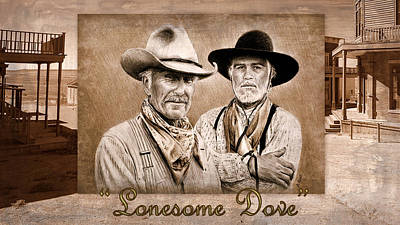 Painting - Lonesome Dove by Andrew Read
