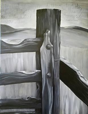 Lonesome Dove Days Art Print