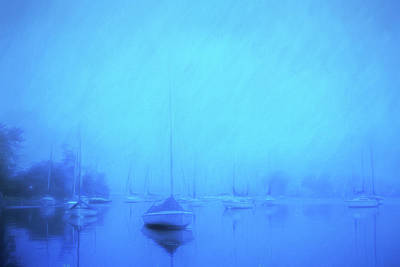 Art Print featuring the photograph Lonesome Harbor by Joel Witmeyer