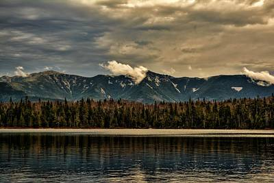 Photograph - Lonesome Lake Franconia Notch by Justin Wheeler