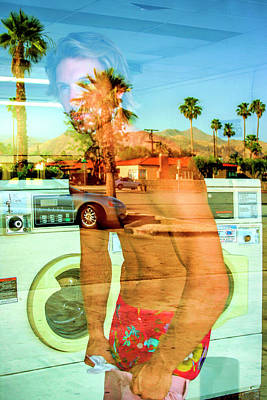 Photograph - Lonesome Launderer Palm Springs by William Dey